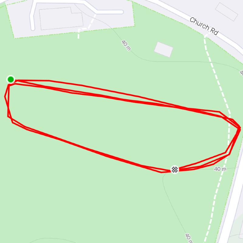 Corin Floyd's 1K route